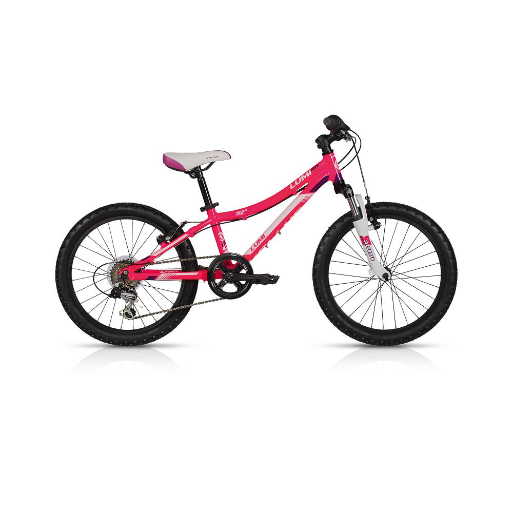 """Dětské kolo KELLYS LUMI 50 20"""" - model 2017 Pink - 255 mm (10"""") - Záruka 5 let"""