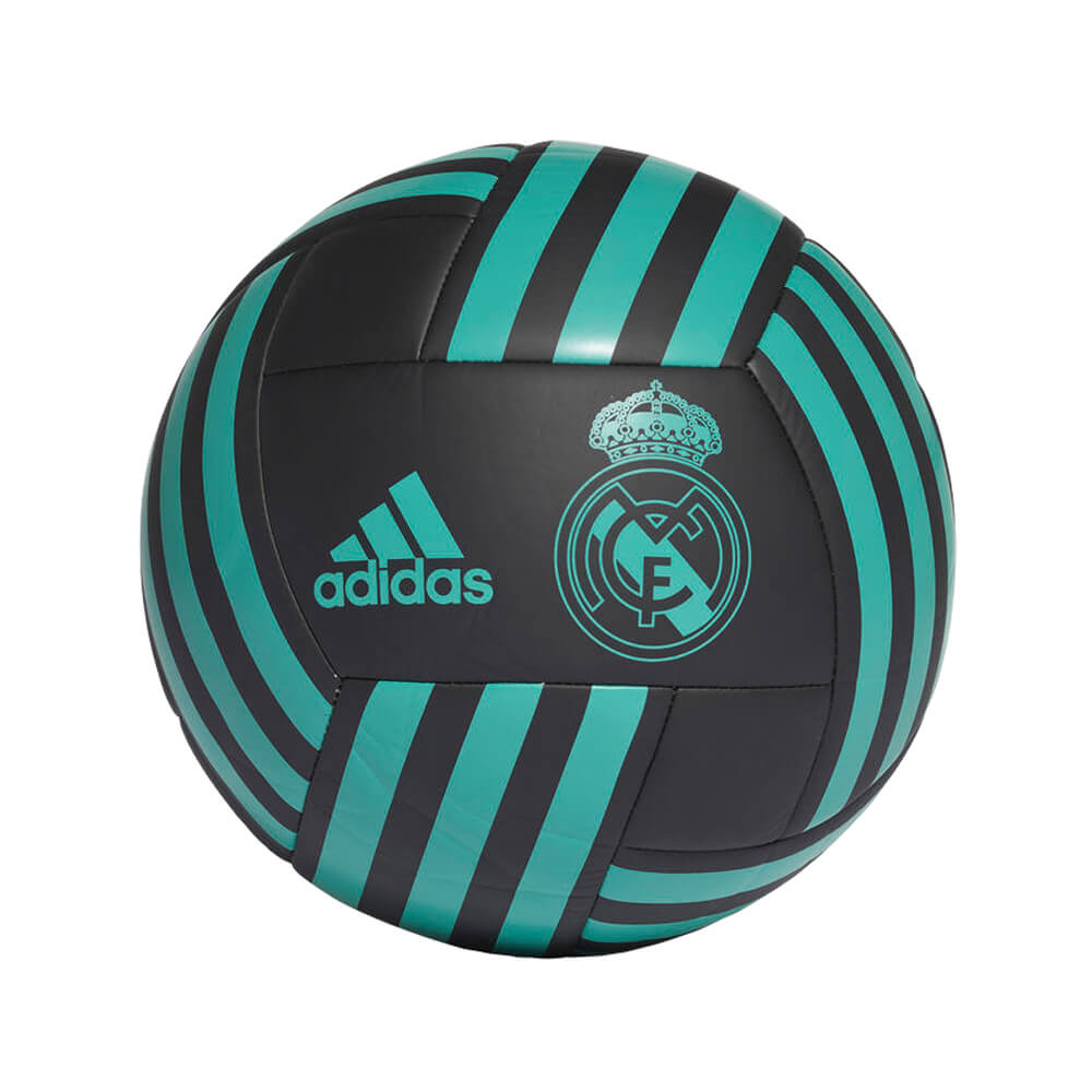 Fotbalový míč Adidas Real Madrid BS0384 černo-modro-zelený