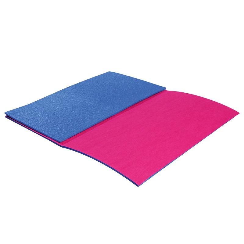 Karimatka Yate skládací 90 x 50 cm modro-červená