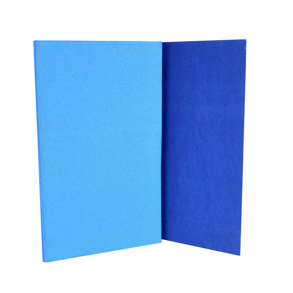 Karimatka Yate skládací 90 x 50 cm modrá