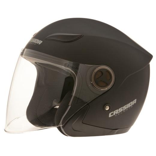 Moto helma Cassida Reflex matně černá - XS (53-54)