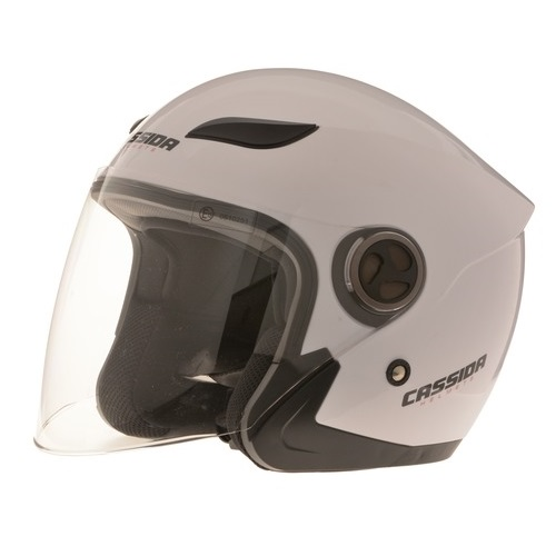 Moto helma Cassida Reflex bílá - XS (53-54)