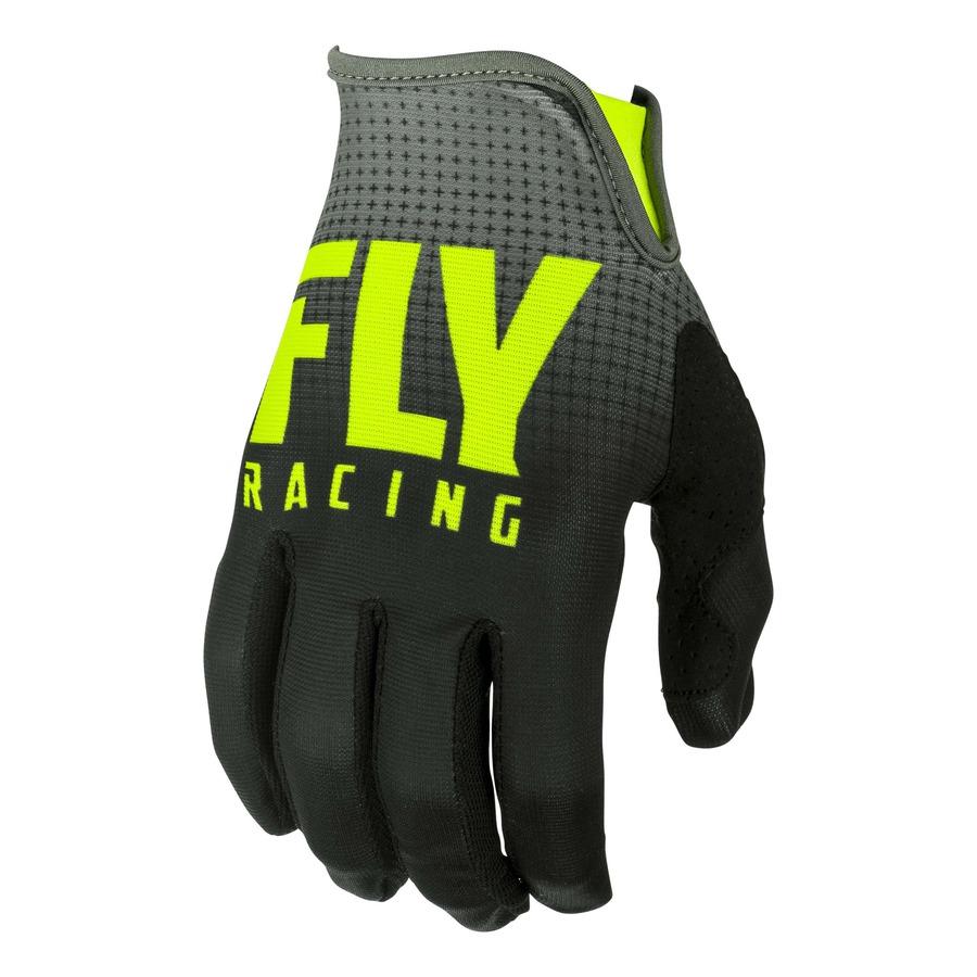 Moto rukavice Fly Racing Lite 2019 černá/hi-viz - S