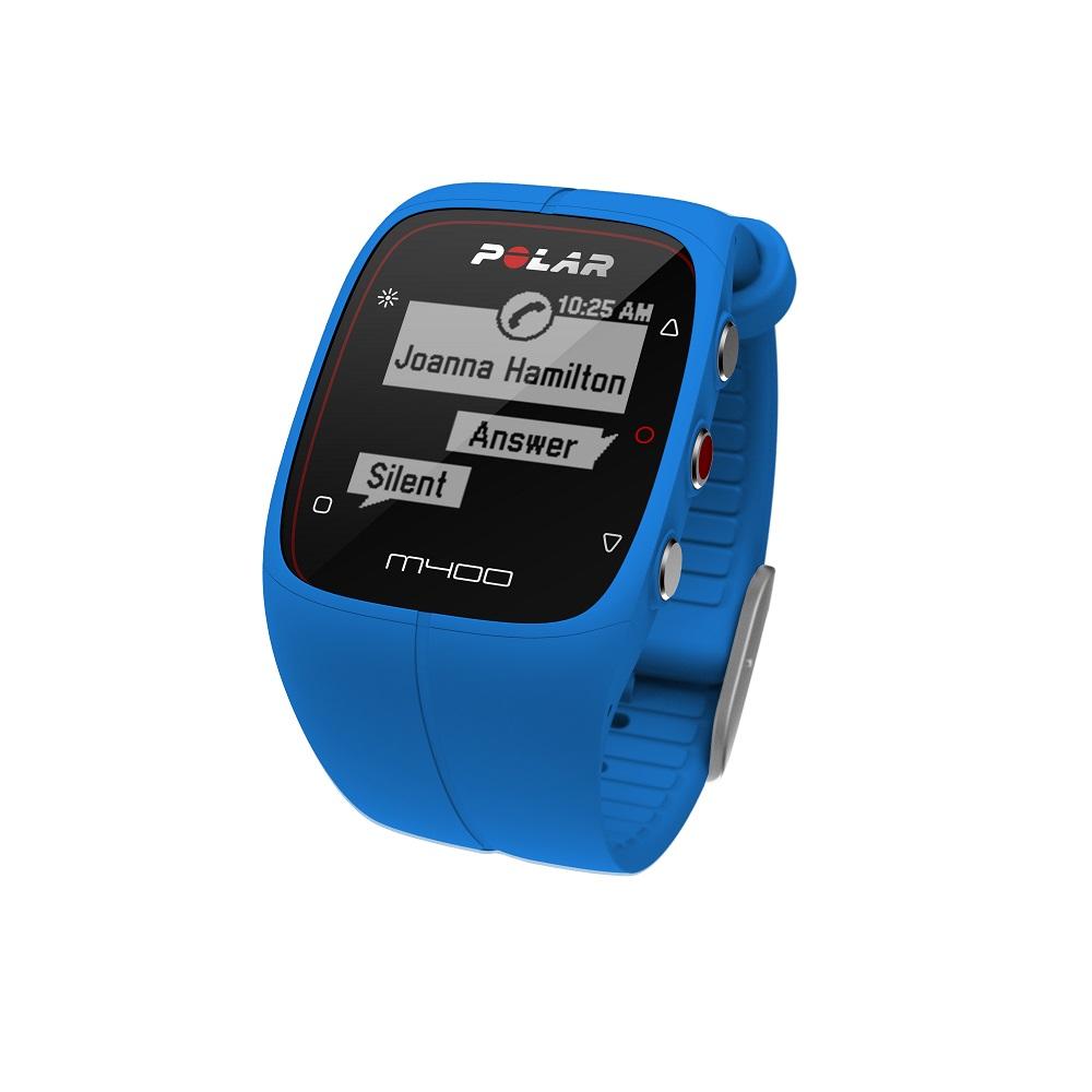Sporttester POLAR M400 HR modrá