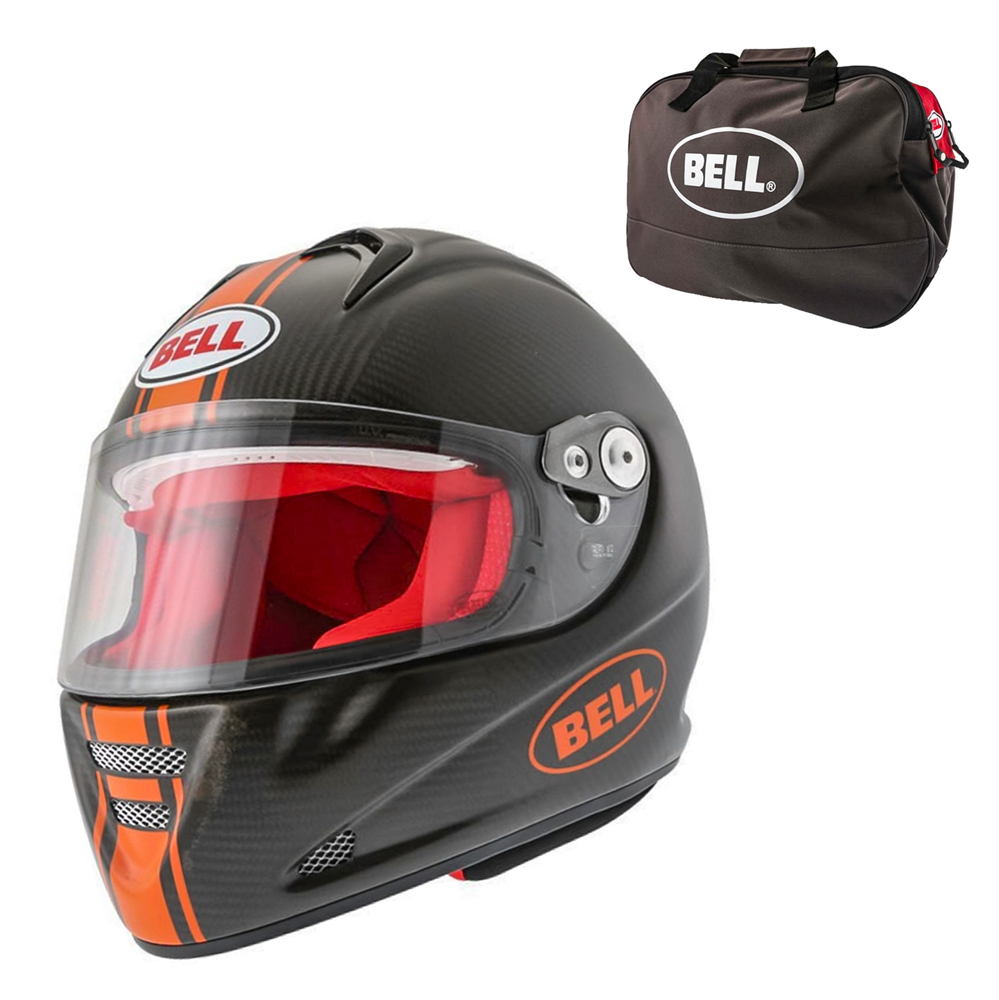 Bell M5X Daytona Carbon Matte Orange M 5758