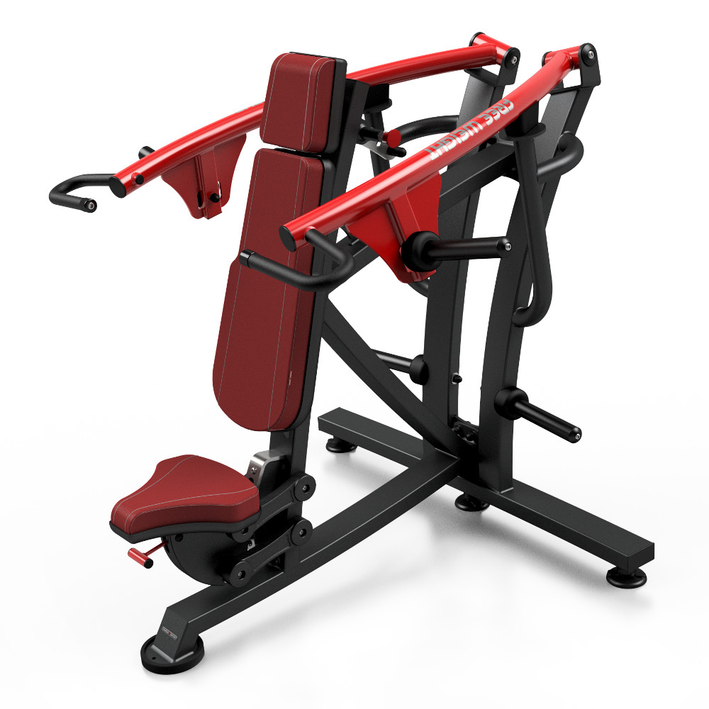 Posilovací stroj - tlaky na ramena Marbo Sport MF-U007 červená
