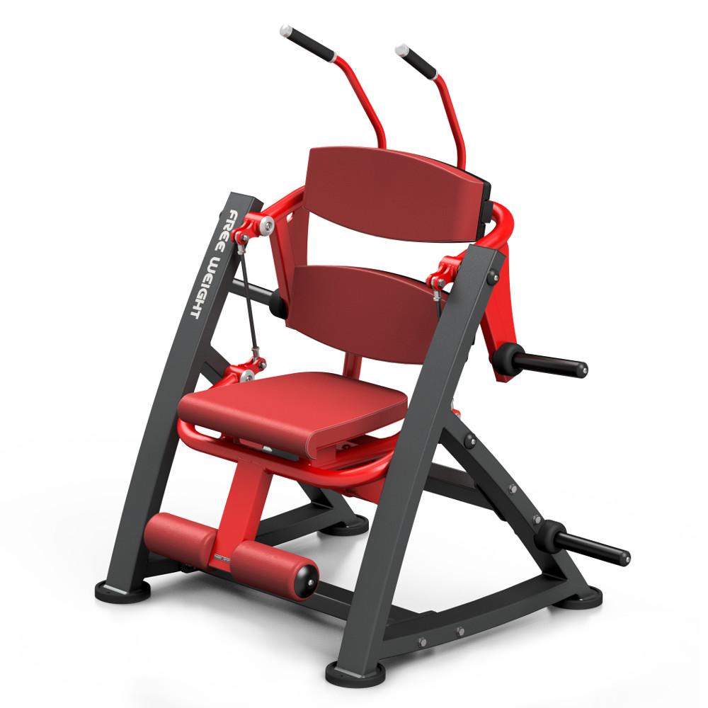 Posilovací stroj na břišní svaly Marbo Sport MF-U015 červená
