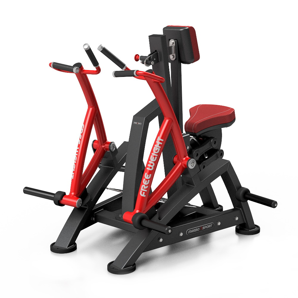 Posilovací stroj na zádové svaly Marbo Sport MF-U017 červená