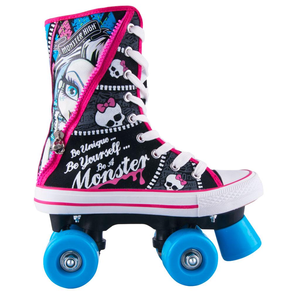 Dětské dvouřadé kolečkové brusle Monster High 34