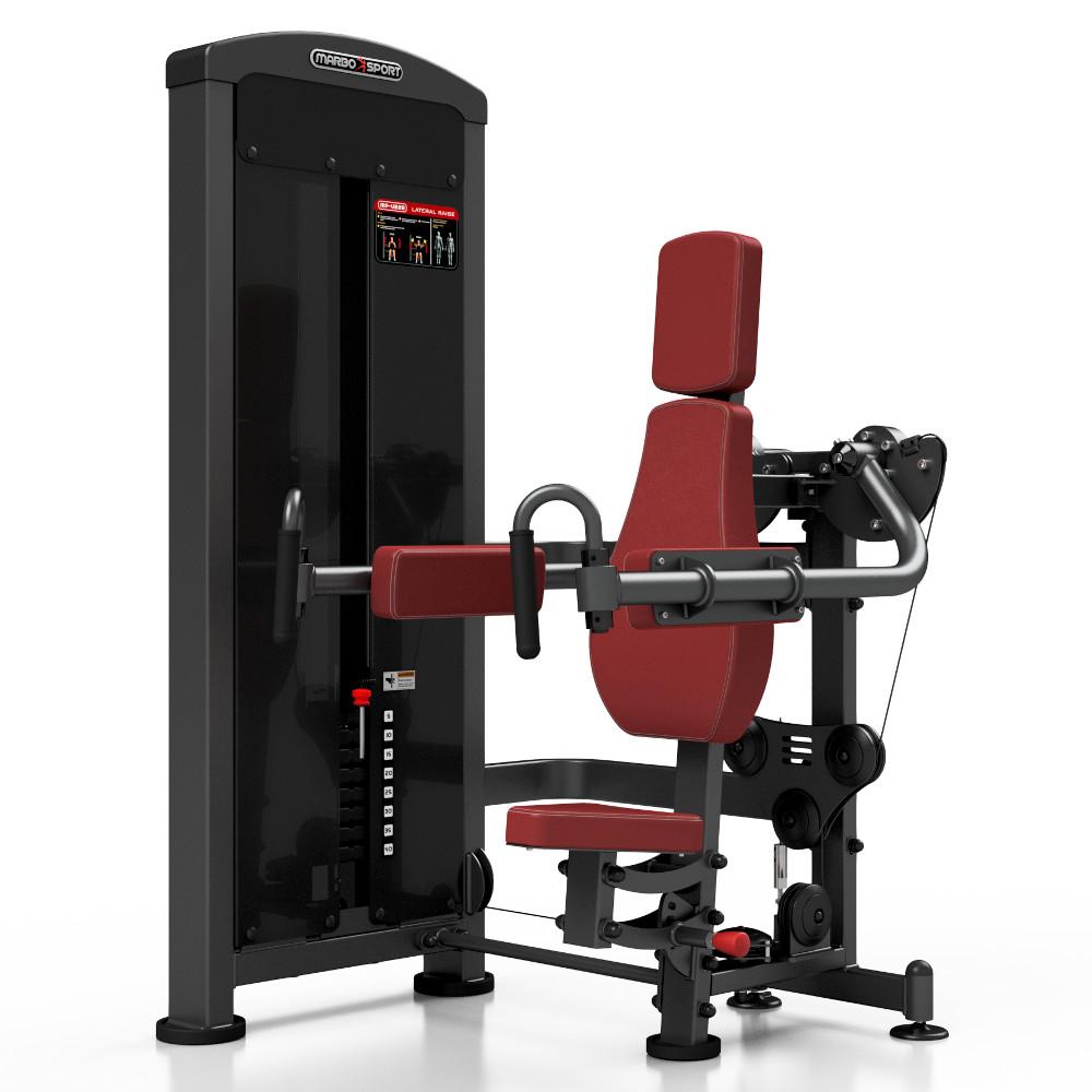 Posilovací stroj - ramena v sedě Marbo Sport MP-U228 červená