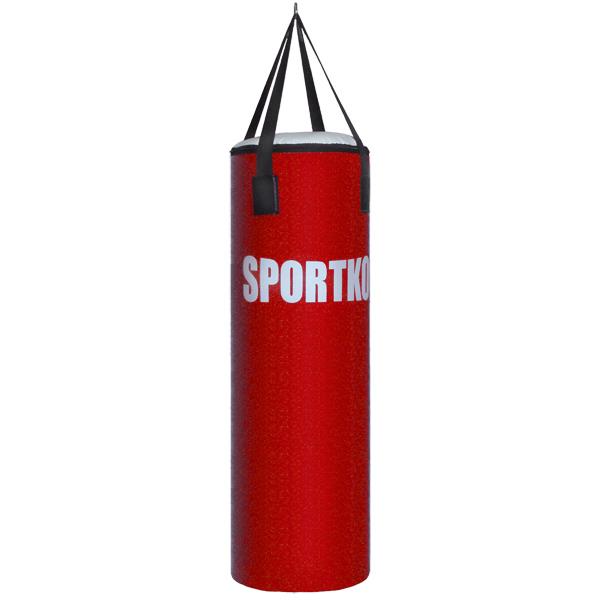 Boxovací pytel SportKO Elite MP1 35x100 cm červená