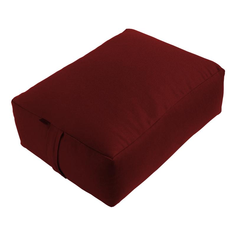 Meditační polštář ZAFU Tofu Komfort vínová