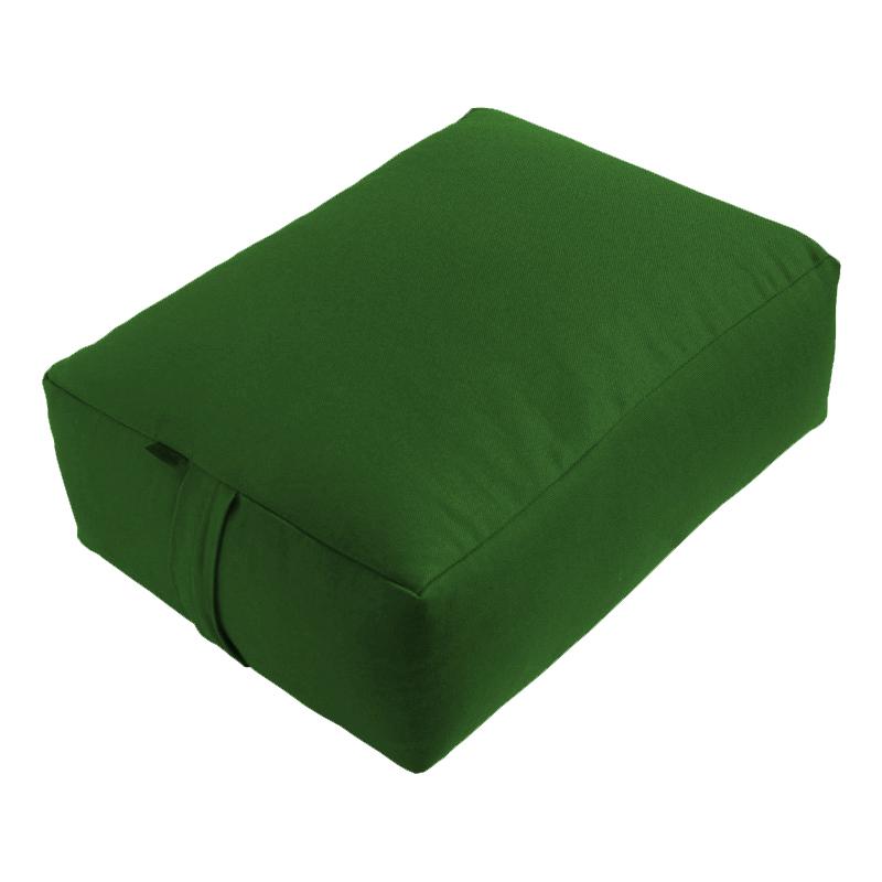 Meditační polštář ZAFU Tofu Komfort zelená