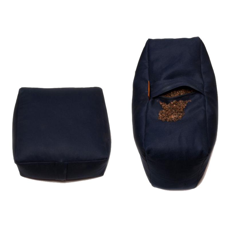 Meditační polštář ZAFU Tofu Standard modrá
