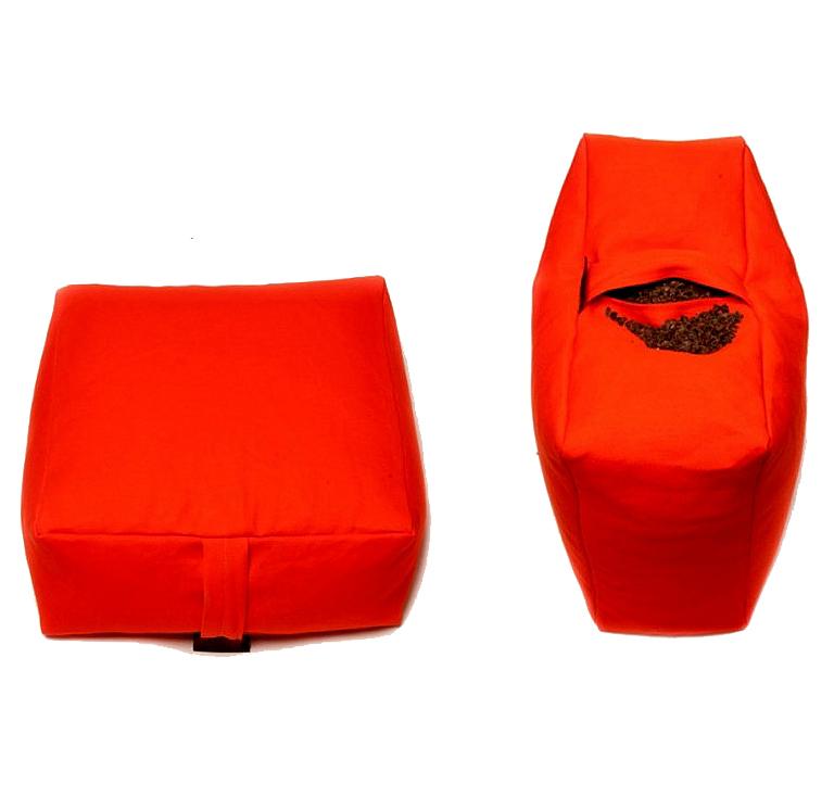 Meditační polštář ZAFU Tofu Standard oranžová