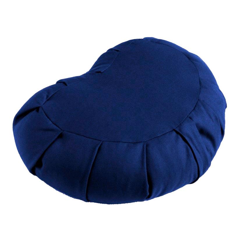 Meditační polštář ZAFU Moon Cushion modrá