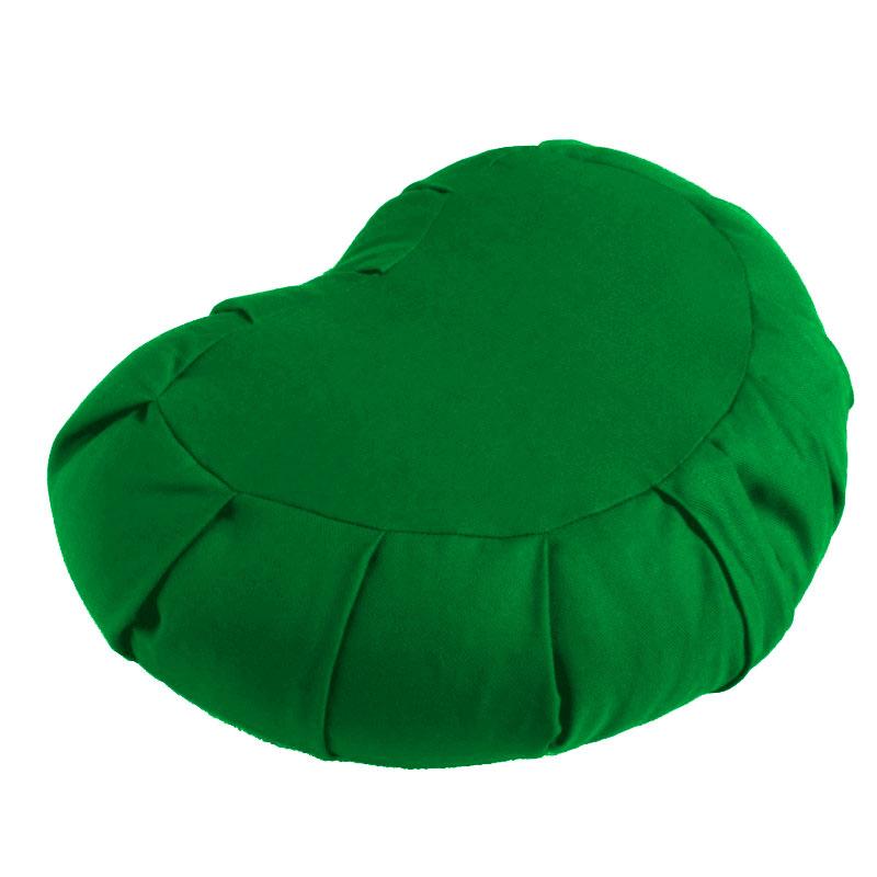Meditační polštář ZAFU Moon Cushion zelená