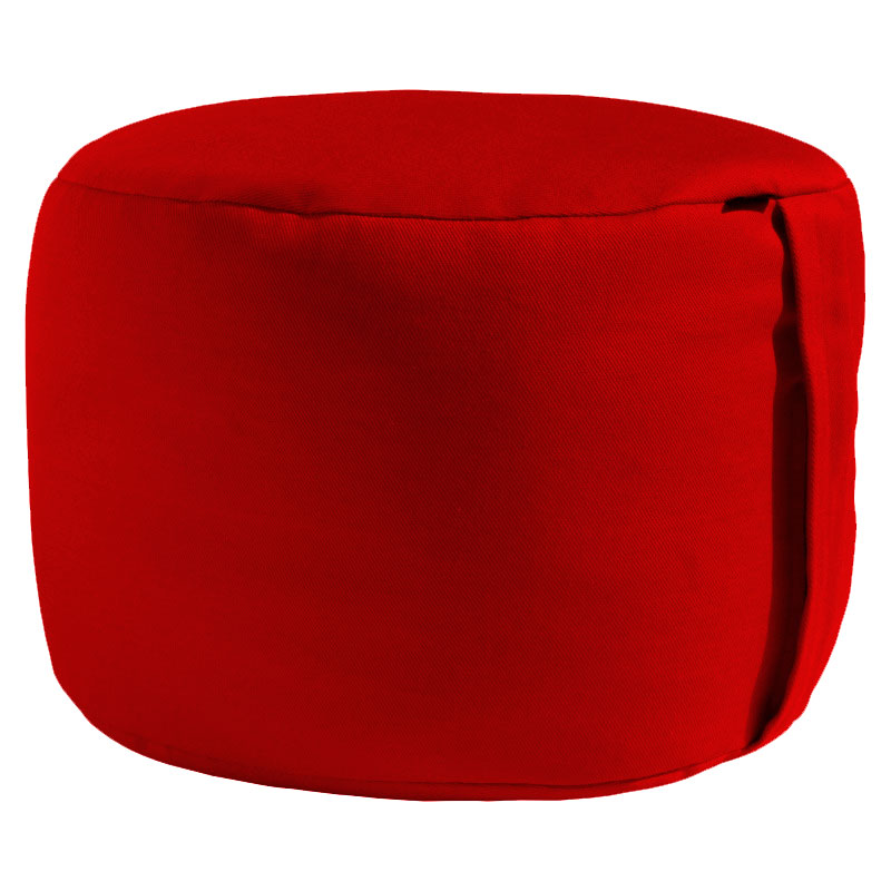 Meditační polštář ZAFU XXL červená
