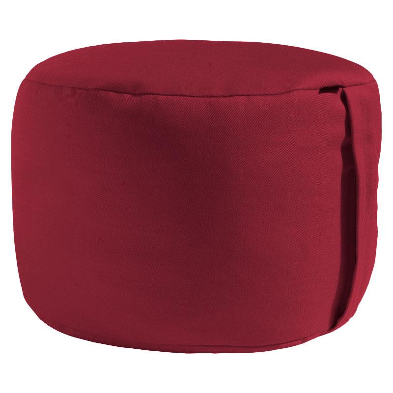 Meditační polštář ZAFU cestovní vínová