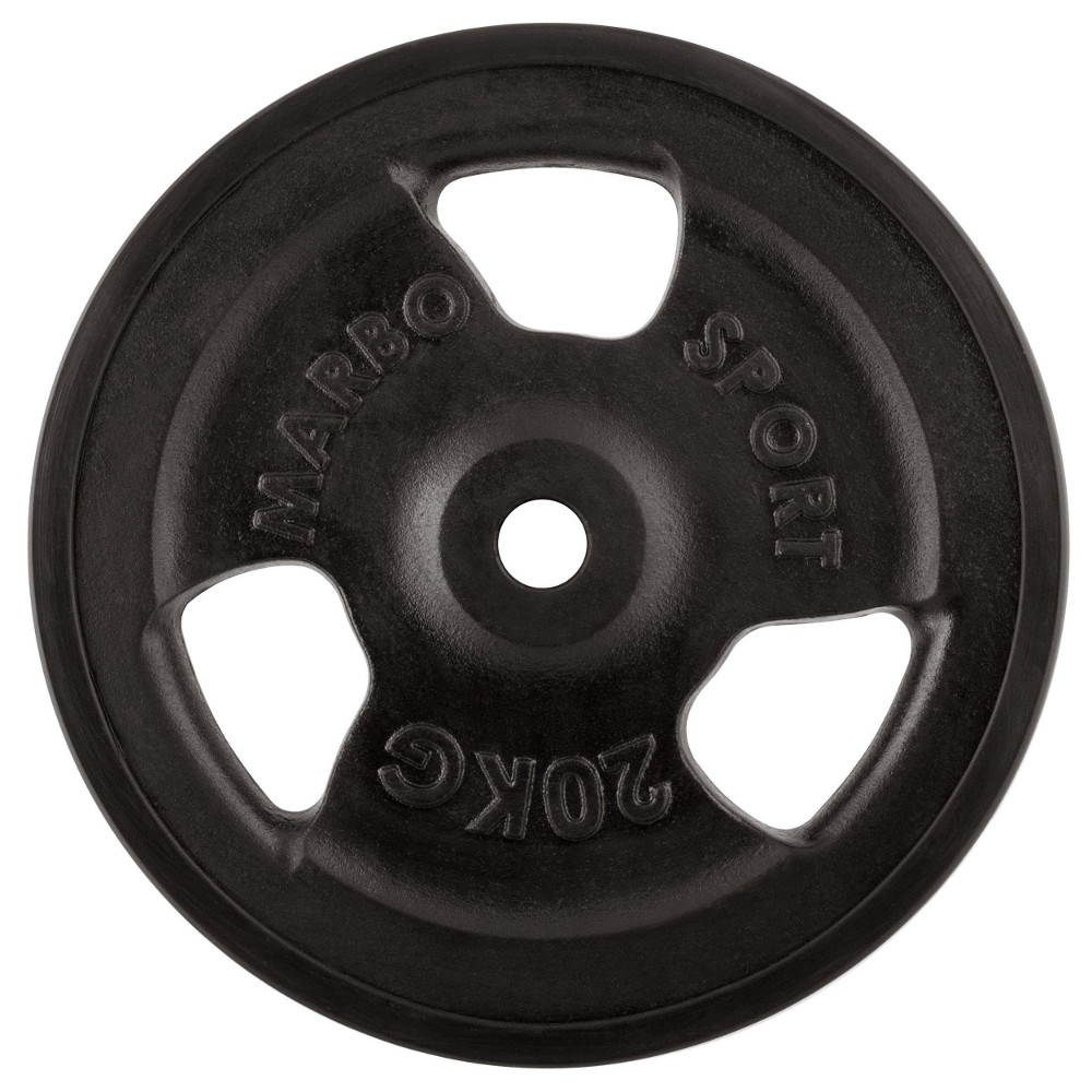 Pogumovaný kotouč Marbo Sport MW-O20G 20 kg