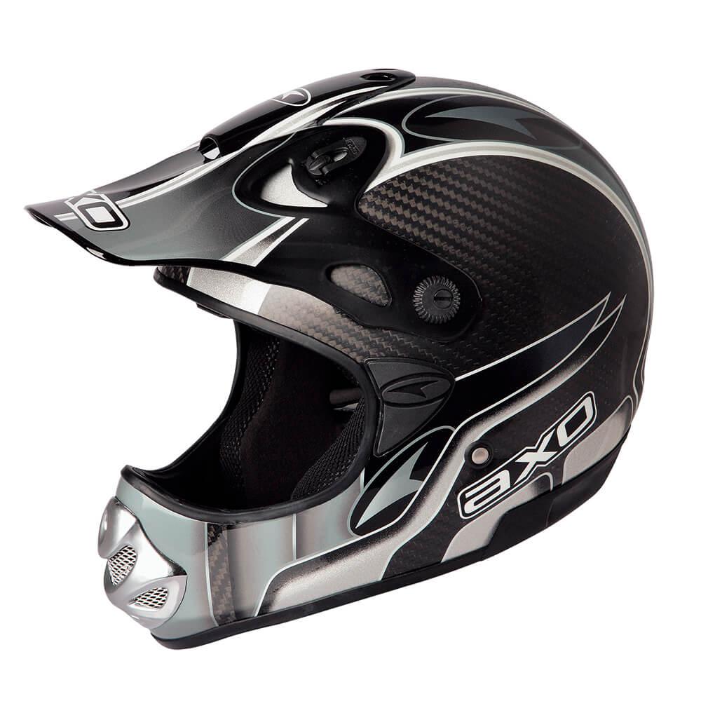 Motokrosová přilba AXO MM Carbon Evo černá - XXL (63-64)