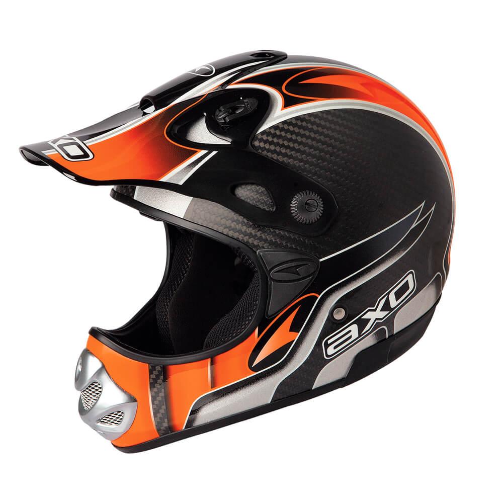 Motokrosová přilba AXO MM Carbon Evo oranžová - XL (61-62) cc38267fa8