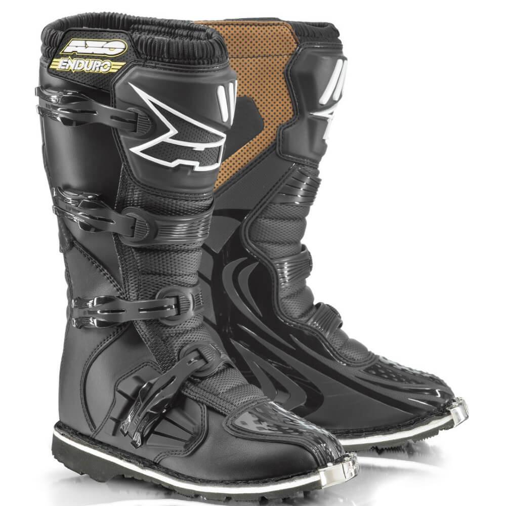 Motokrosové boty AXO Drone Enduro černá - 40