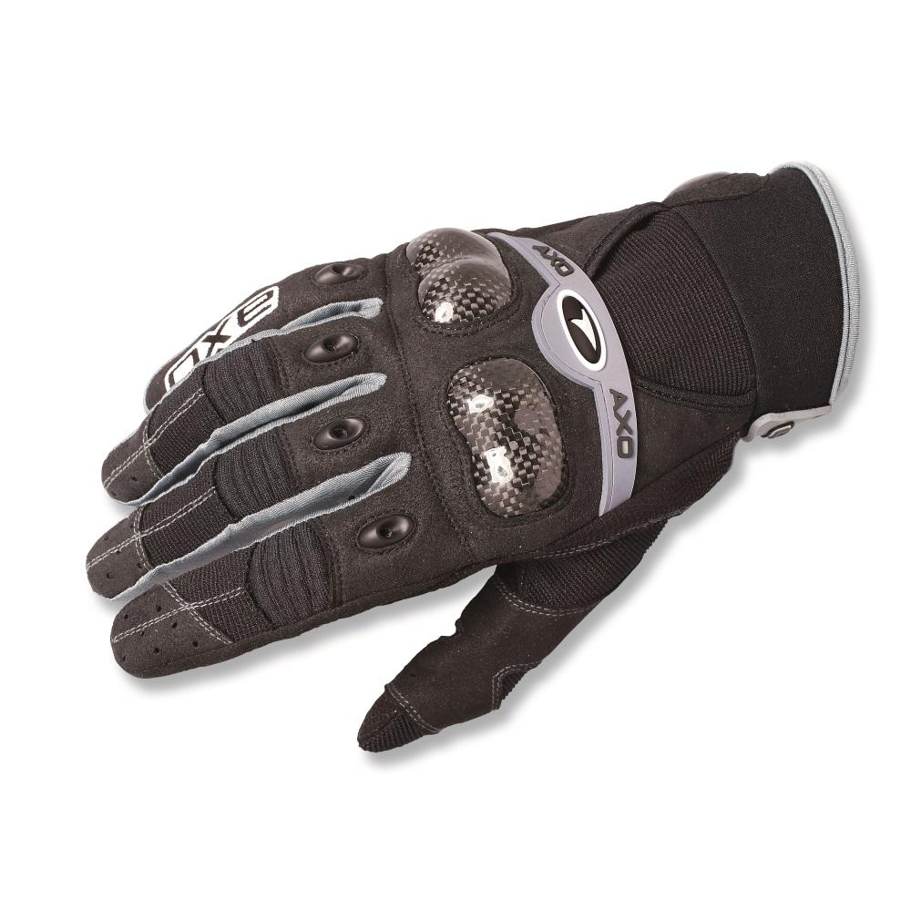 e15da075a94 Motokrosové rukavice AXO VR-X černá - M