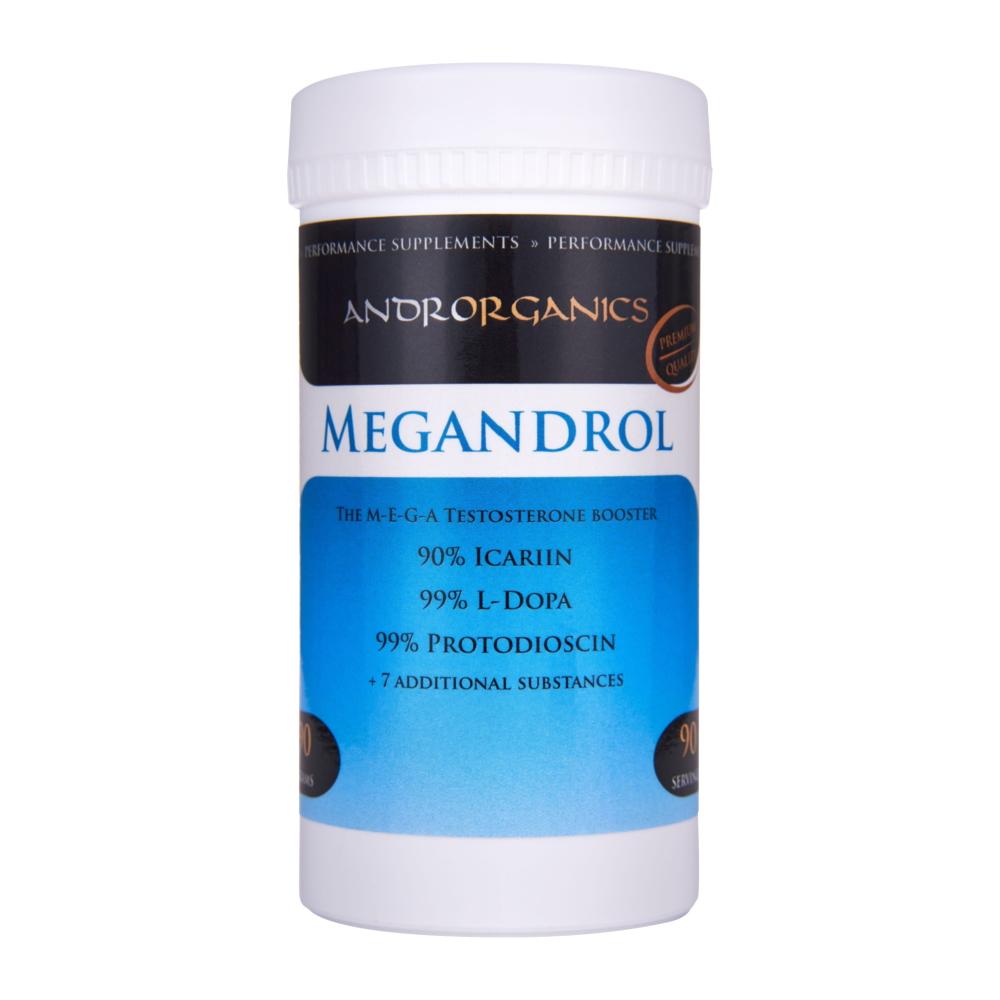 Testosteronový booster Androrganics Megandrol 90g