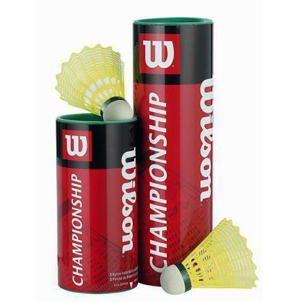 Míček na badminton Wilson Championship 6 kusů 77 pomalé