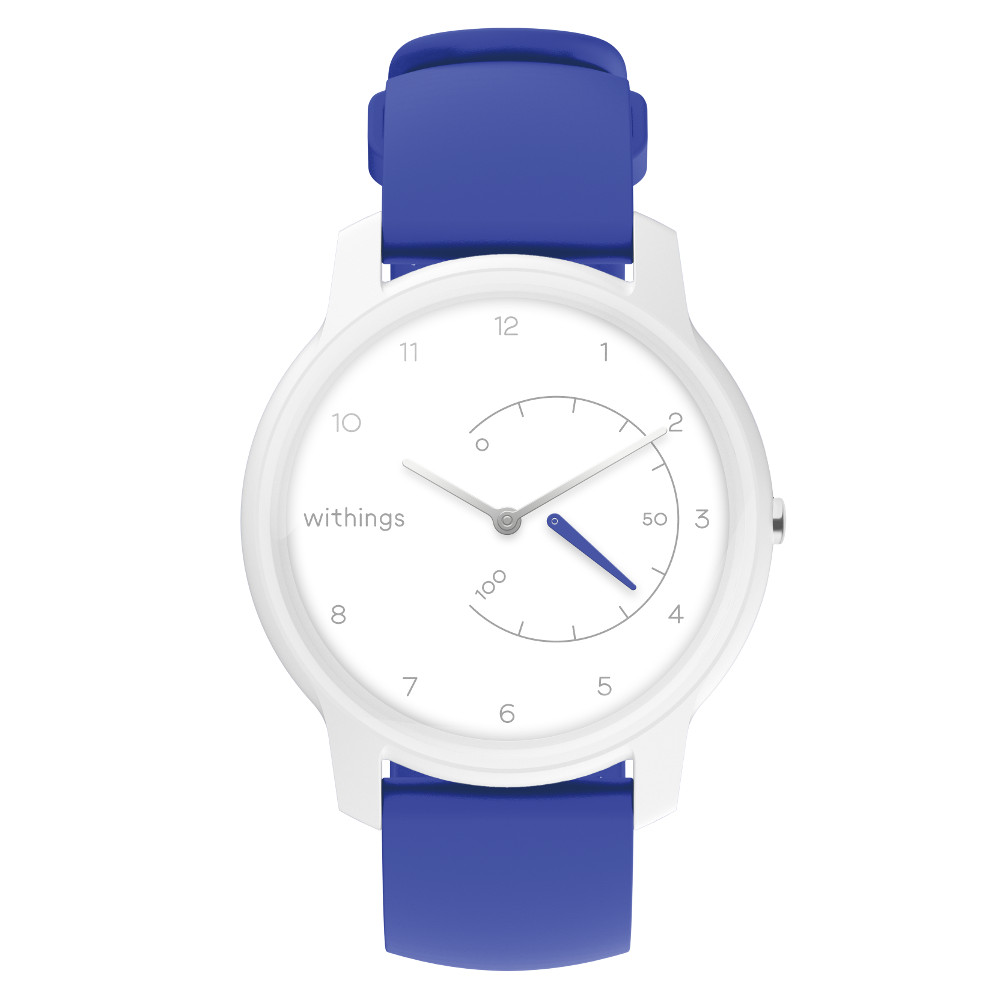 Chytré hodinky Withings Move White/Blue