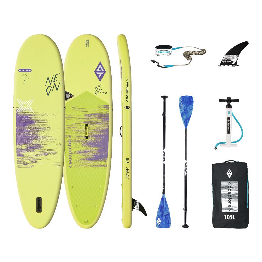 """Paddleboard s příslušenstvím Aquatone Neon 9'0"""""""