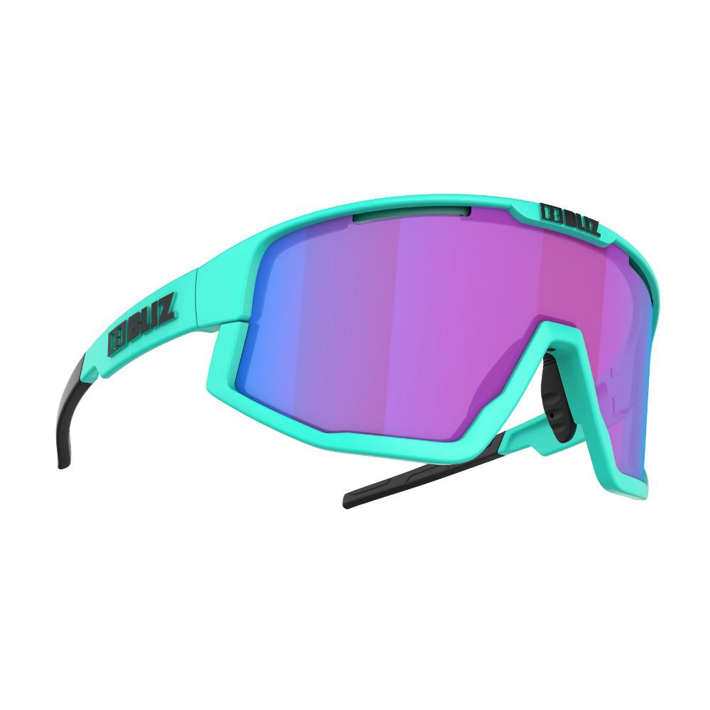 Sportovní sluneční brýle Bliz Fusion Nordic Light 2021 Matt Turquoise