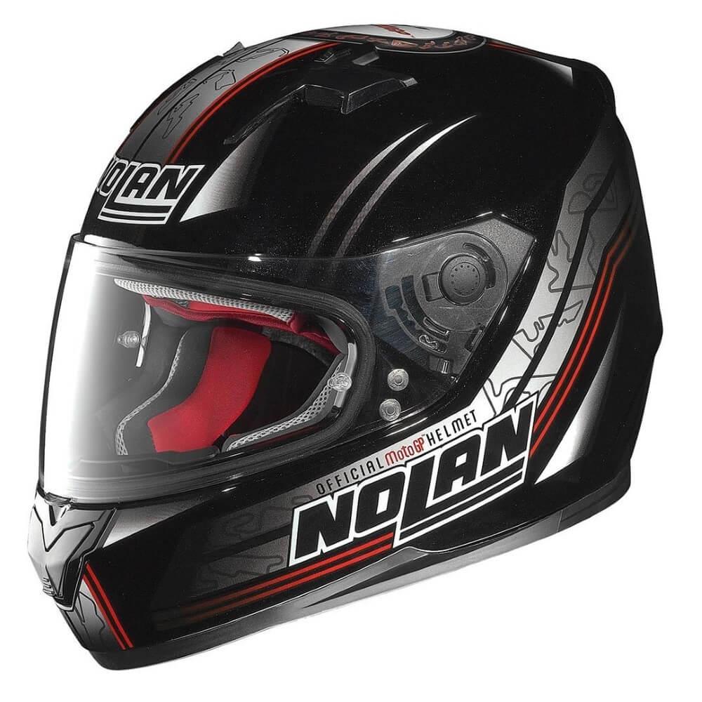 Moto helma Nolan N64 Moto GP Metal Black XL (61-62) - Záruka 5 let