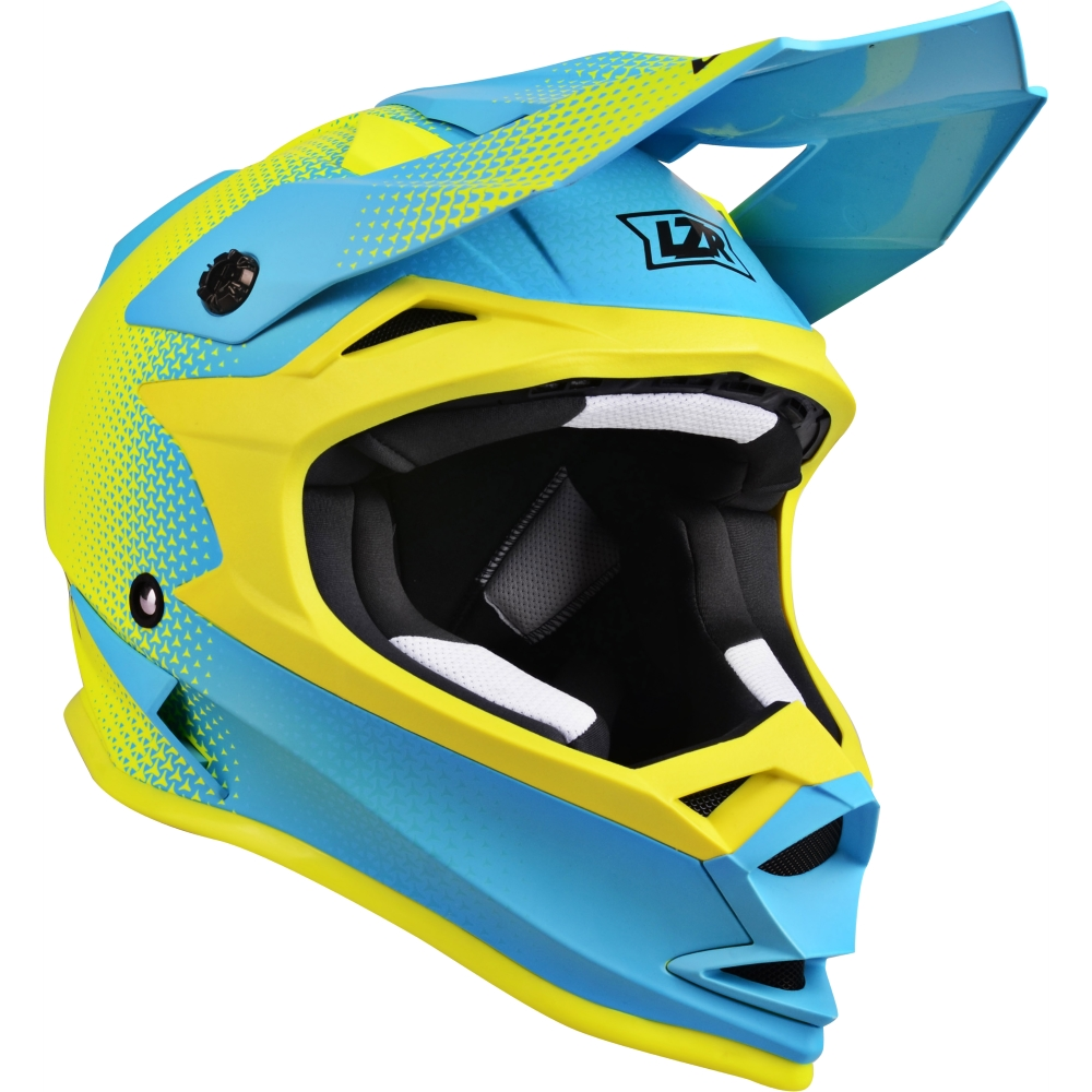 Lazer OR1 Heart Attack Yellow FluoBlueMatt  L 5960