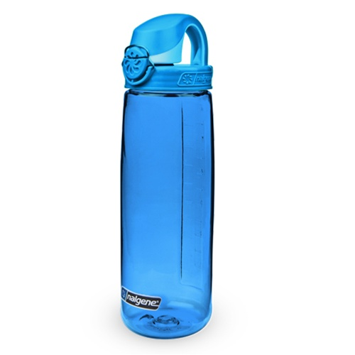 Nalgene On the Fly 750 ml Glacial BlueGlacial cap