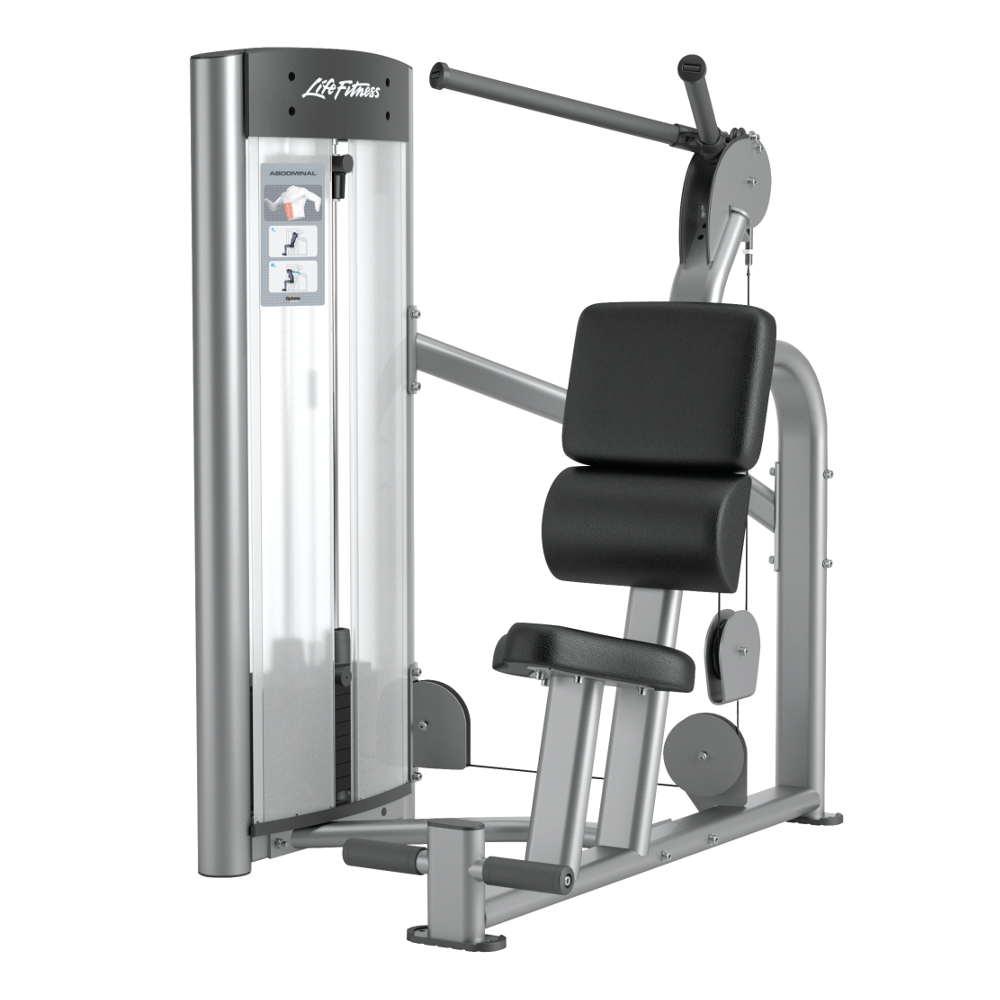 Posilovací stroj na břišní svaly Life Fitness Optima Abdominal - Montáž zdarma + Servis u zákazníka