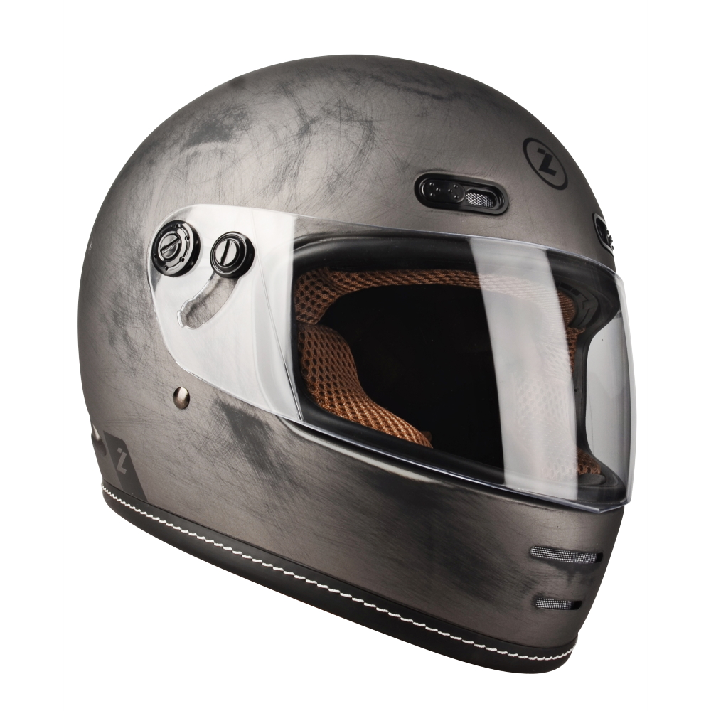 Moto Přilba Lazer Oroshi Cafe Racer  Alu Brushed-Matt  S (55-56)