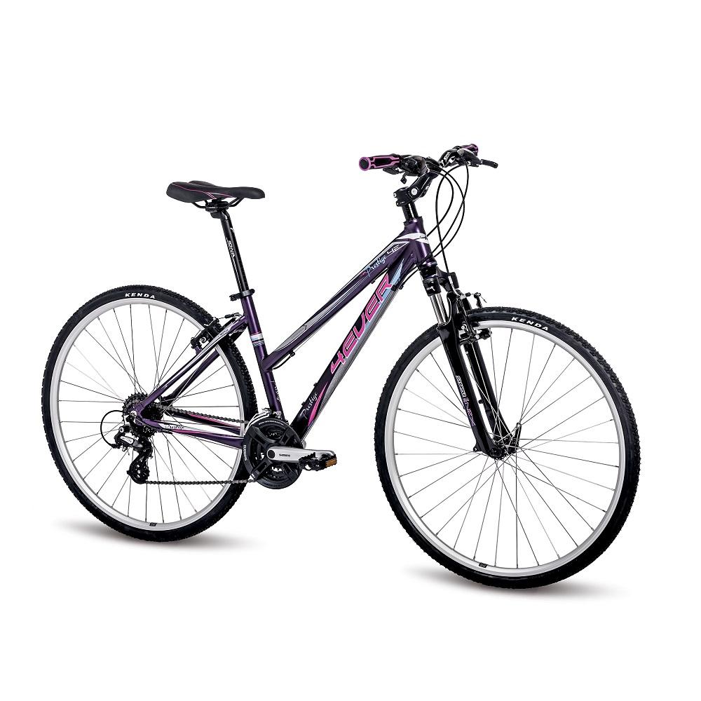 """Dámské crossové kolo 4EVER Prestige 28"""" - model 2016 fialovo-růžová - 16,5"""""""