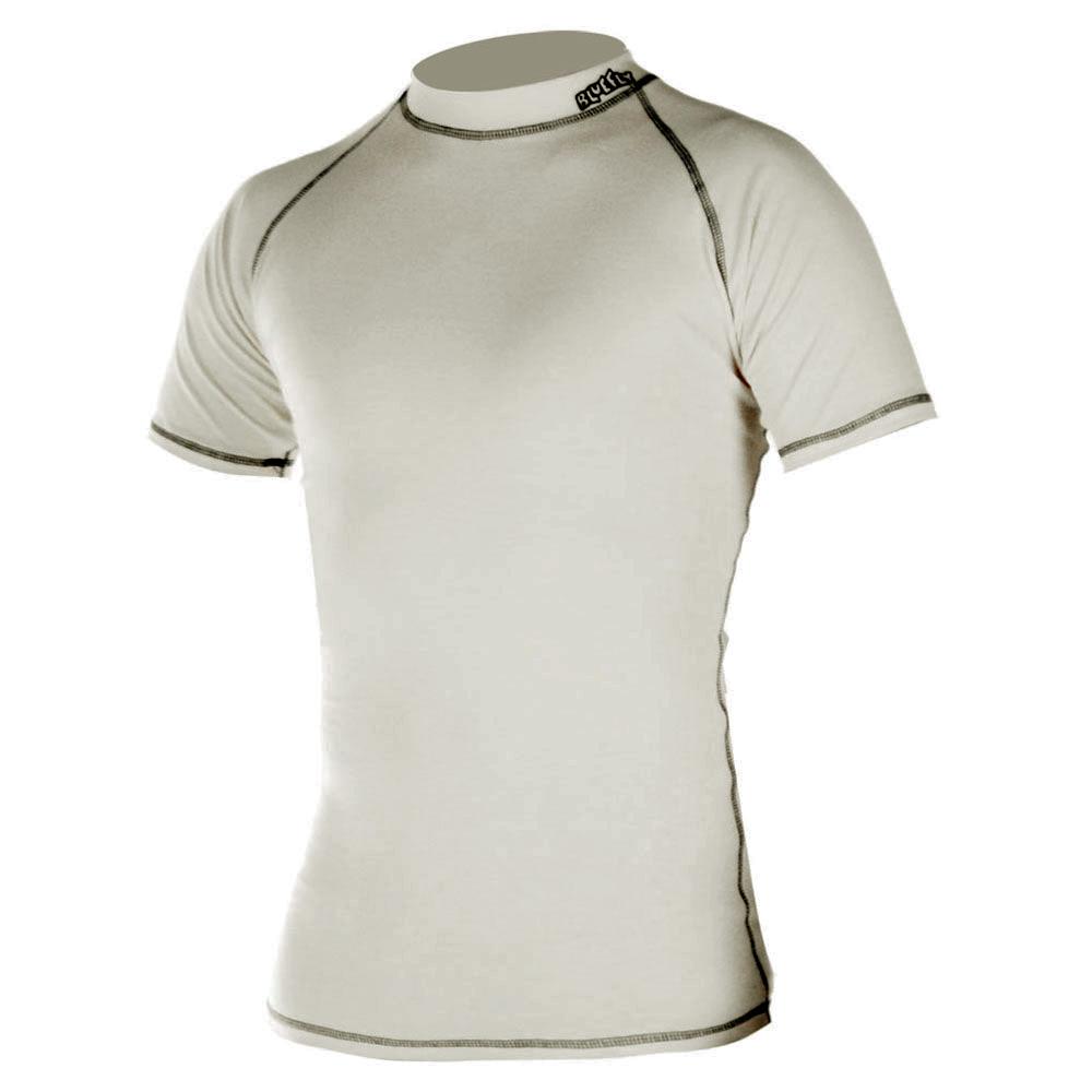 Dětské triko krátký rukáv Blue Fly Termo Pro béžová - S (110-116)