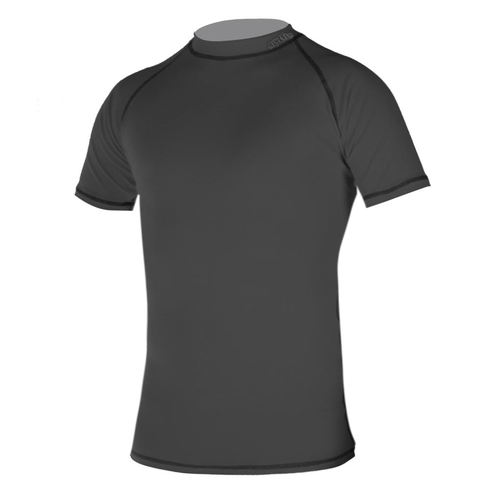 Dětské triko krátký rukáv Blue Fly Termo Pro šedá - XS (98-104)