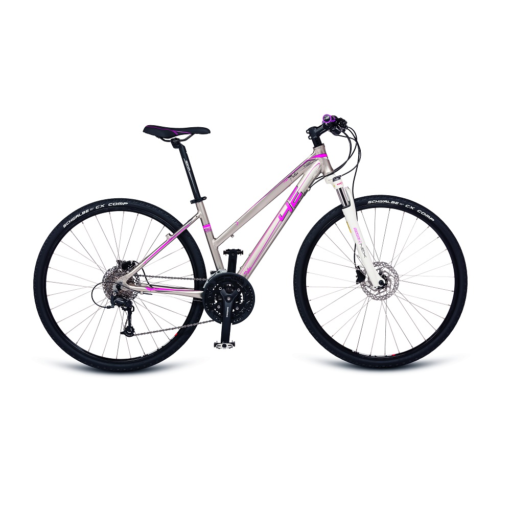 Dámské crossové kolo 4EVER Pulse Disc 28'' - model 2017 16,5""