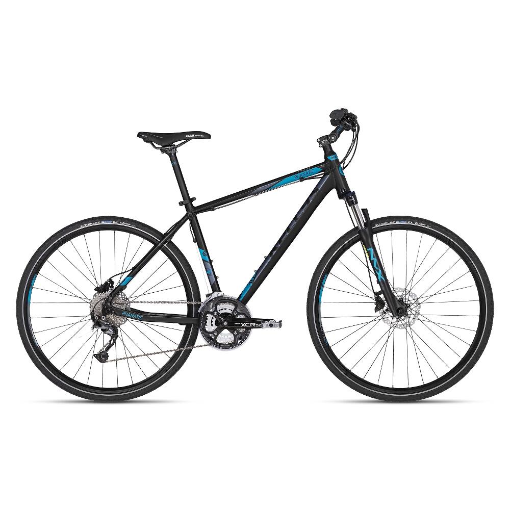 """Pánské crossové kolo KELLYS PHANATIC 30 28"""" - model 2018 Dark Blue - 19"""" - Záruka 10 let"""