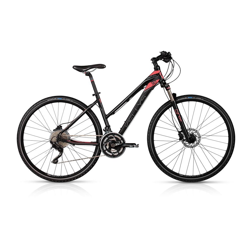 """Dámské crossové kolo KELLYS PHUTURA 90 28"""" - model 2017 432 mm (17"""") - Záruka 10 let"""