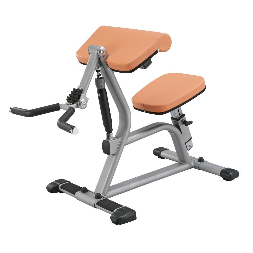 Posilovač bicepsů - Hydraulicline CBC400 oranžová - Záruka 10 let + Servis u zákazníka