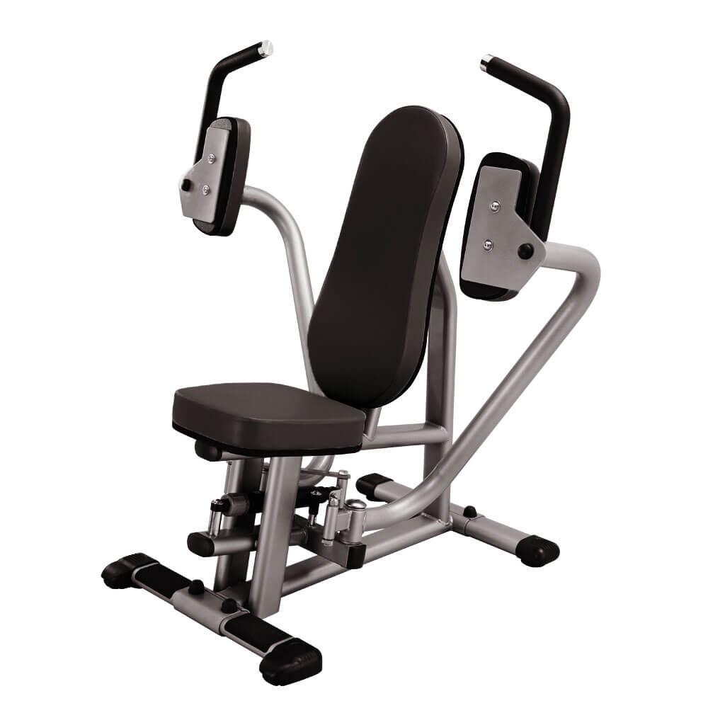 Posilovač prsních svalů - Hydraulicline CPD800 černá - Záruka 10 let + Servis u zákazníka