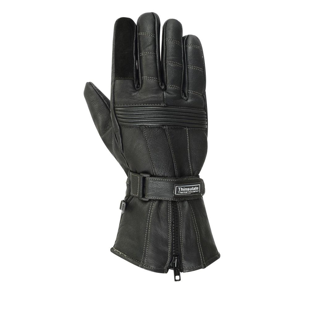 Moto rukavice BOS Prag černá - XXL
