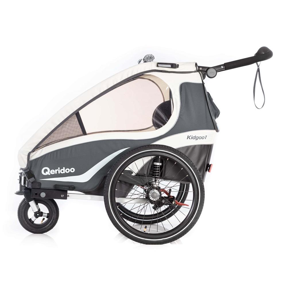 Multifunkční dětský vozík Qeridoo KidGoo 1 2019 Anthracit