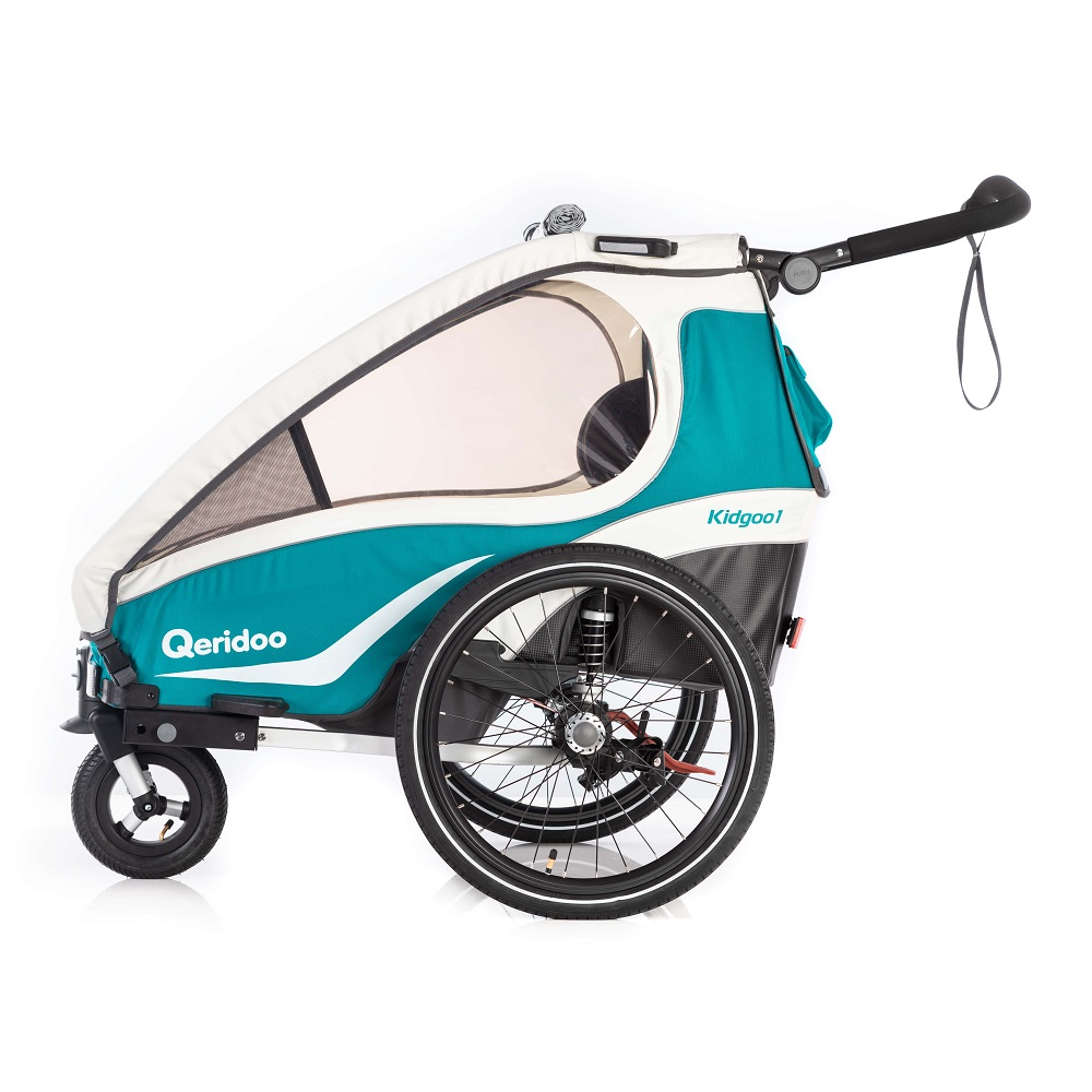 Multifunkční dětský vozík Qeridoo KidGoo 1 2019 Aquamarin
