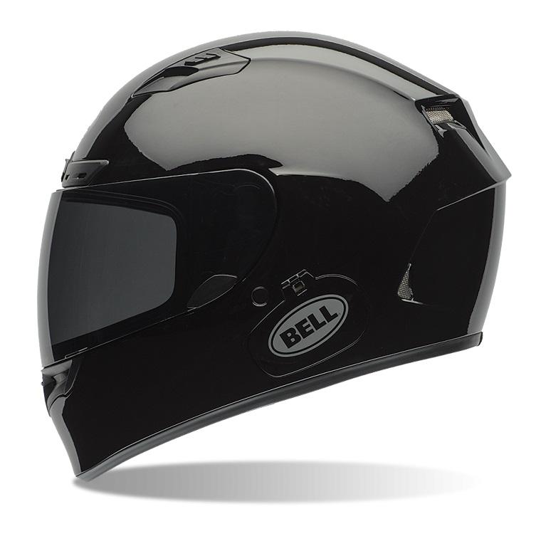 Moto přilba BELL Qualifier DLX Solid Black - M (57-58) - záruka 5 let